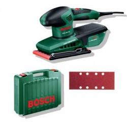 Lijadora Orb. 200w 92x182mm 0603340100 Fij.pinza Bosch