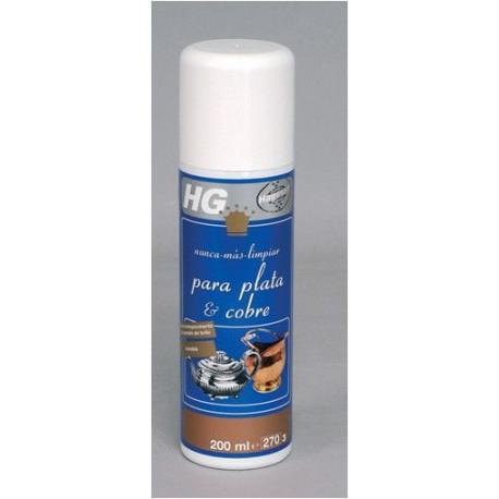 Limpiador Prot Plata-cob-lat-bronce Spray Hg 200 Ml