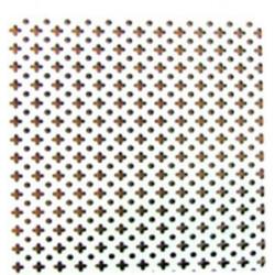 Chapa Aluminio 2x1x05mm Blanco 97001