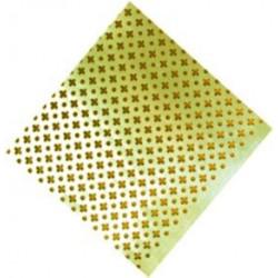 Chapa Aluminio 2x1x05mm Oro 97003