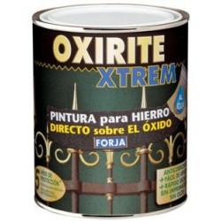 Esmalte P/hierro Al Agua Forja Negro 750ml 6527203 Oxirite