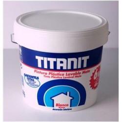 Pintura Plastica Interior Titanit Blanca 15lt 029190015