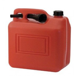 Bidon Gasolina 5lt C/embudo/asa/indicador Medida