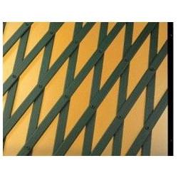 Celosia Verde 1x2 Modelo Trellis Extensible Pvc