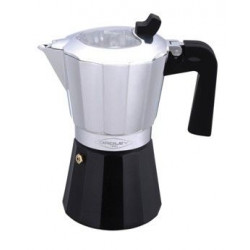 Cafetera Aluminio Val.inducc   6tz C/reduct A 3tz Oroley