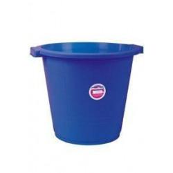 Barreño 50lt Redondo 50x39 Colada Azul Plastiken