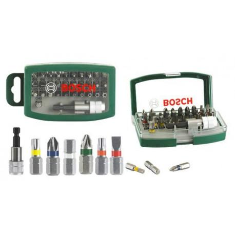 Punta Atornillador Set 32 Pzs(7 Torx Inviolables) Bosch