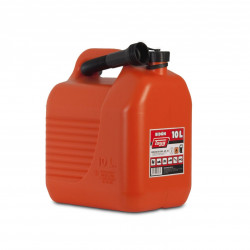 Bidon Plastico C/canula 10lt Para Carburantes 265x200x307mm