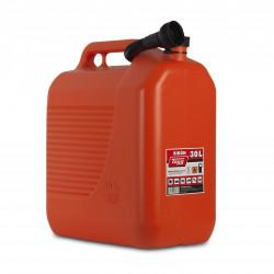 Bidon Plastico C/canula 30lt Para Carburantes 400x237x464mm