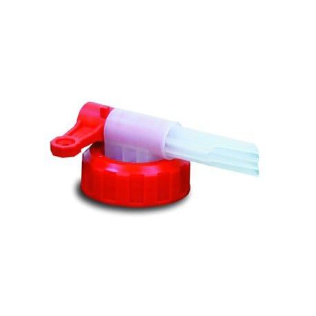 Tapon-grifo Bidon Plastico Blanco De  5 Y 10 Litros