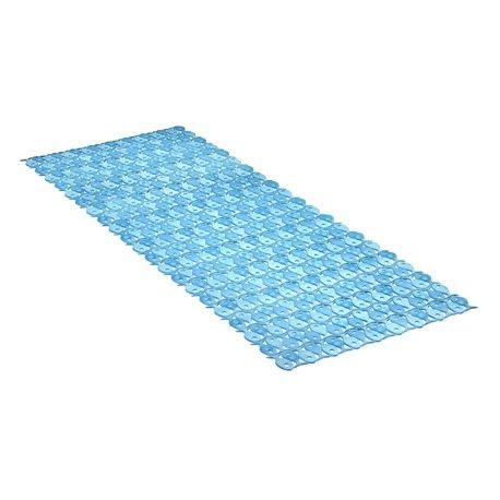 Comprar alfombra ba era rectangular azul 97x36 tatay en - Alfombra banera ...