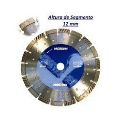 Disco Diamante Profesional Obra  115mm 2,5mm H12 Ma35t115