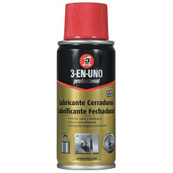 Aceite Lubricante Cerraduras Prof Spray 3-en-uno 100 Ml