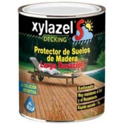 Protector Suelos Maderas Tropicales Color Teca Satinad 750ml