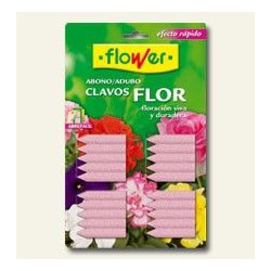 Abono Clavos Planta Con Flor 30u Prod.flower