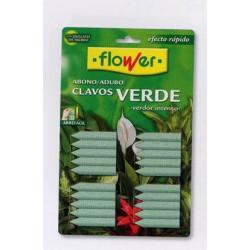 Abono Clavos Plantas Verdes 20u Productos Flower