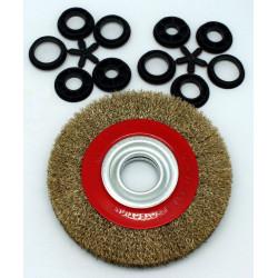 Cepillo Circular Metalico 150mm/20mm Acero P/amolado. Tryun