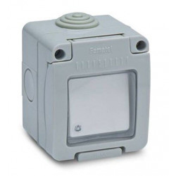 Pulsador Timbre 10a 250v Estanco Ip55 Famatel