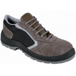 Zapato Serraje+textil S1p Transpirable Gris Cauro Oxigenot38