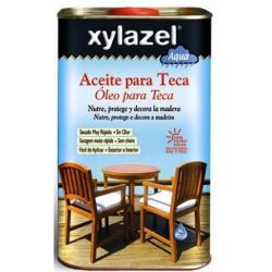 Aceite Para Teca Al Agua Color Miel 750ml Xylazel 1761703