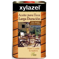 Aceite Para Teca Larga Duracion Teca 750ml Xylazel 0630603