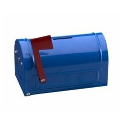 Hucha Mail Box 152x83x93 Azul