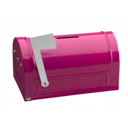Hucha Mail Box 152x83x93 Rosa