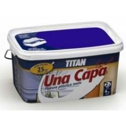 Pintura Plastica Mate Titan Una Capa 2,5lt Negro