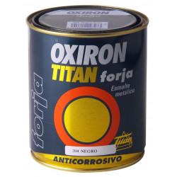 Esmalte P/metal Forja Marron Oxido 375ml Oxiron Titan