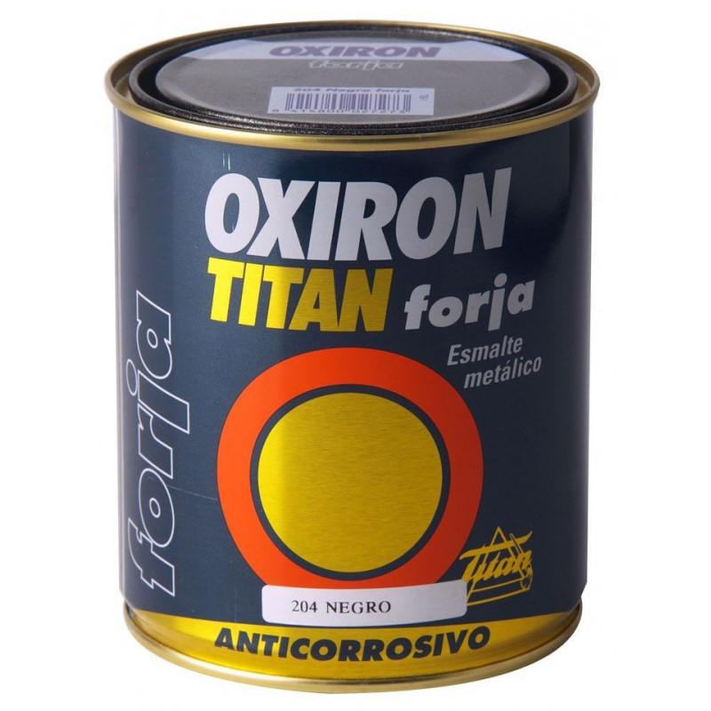 Comprar esmalte p metal forja marron oxido 375ml oxiron - Pintura para hierro exterior ...