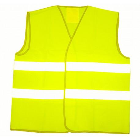 Chaleco Reflectante 2 Tiras Horizontal Amarillo T-xl Unidad
