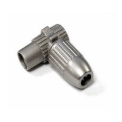 Conector Antena Coaxial Hembra Acodado Met Axil