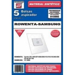 Bolsa Aspirador Papel Rowenta-samsung 915660 Thogar 5 Pz Rf