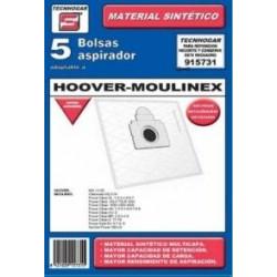 Bolsa Aspirador Hoover-moulinex 915731