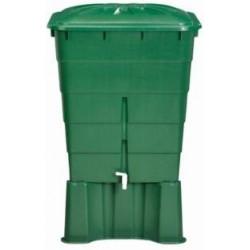 Contenedor De Agua Rectangular Verde 300l