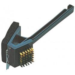 Cepillo 3 En 1 Campingaz Resistentes Puas Metalizadas 205641