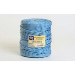Cuerda Poliester Trenzada 5mm Blanc/azul Bobina 200m Segura