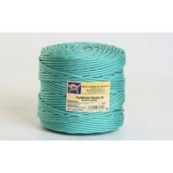 Cuerda Polipropileno Trenzada 5mm Blanc/verd Bobina 200m