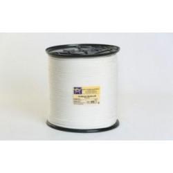 Cuerda Polipropileno Trenzada 4,5mm Blanco Carrete 500m