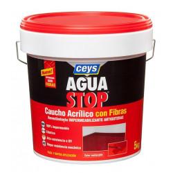 Impermeabilizante Caucho Acrilico C/fibras Blanco 5kg