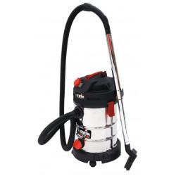Aspirador Solidos/liquidos Inox 1250w 30l+toma Herramientas
