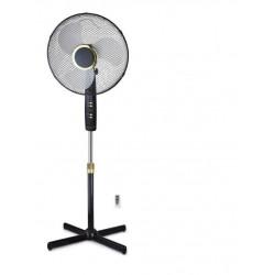 Ventilador Pie 45w Aspas 40 Cm 3 Vel. Mando A Dist.fs-40md