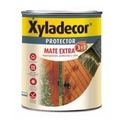 Protector Para Madera Mate Castaño 3 En 1 750ml Xyladecor