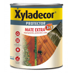 Protector Para Madera Mate Nogal 3 En 1 750ml Xyladecor