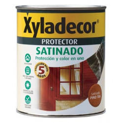 Protector Para Madera Satinado Roble 3 En 1 750ml Xyladecor