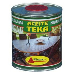 Aceite Para Teca Incoloro 4 Litros Aatk106 Promade