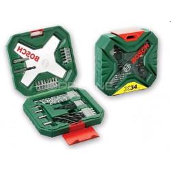 Accesorios 34pz X-line P/taladrar Y Ator Maletin 2607010608