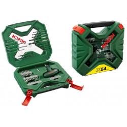 Accesorios  54pz X-line P/taladrar Y Ator Maletin 2607010610