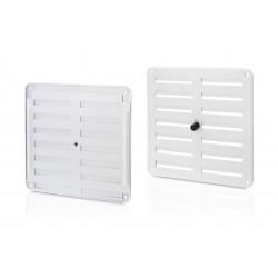 Rejilla Aluminio Regulable Blanco 170x170 Mm 1261-2g Inofix