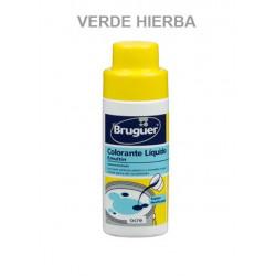 Tinte Concentrado Pinturas Al Agua Verde Hierba 50ml Emultin